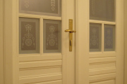 Historical double doors