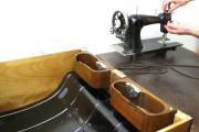 Renovace šicích strojů