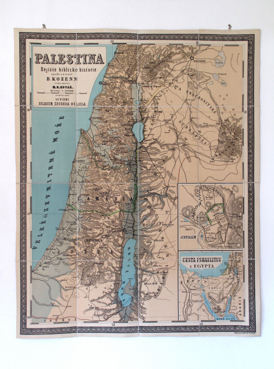 Mapa Palestiny