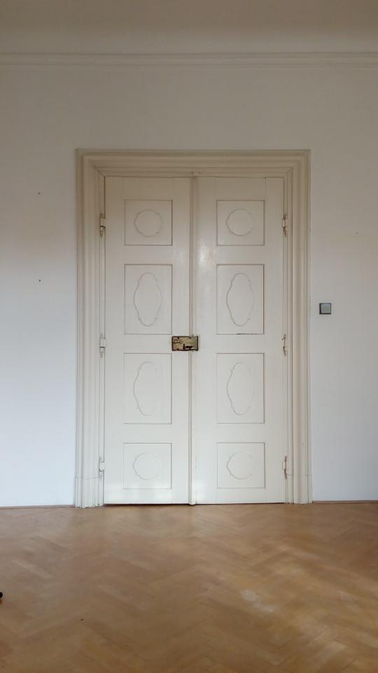 Historické dveře restaurování