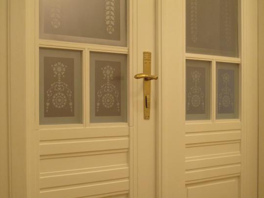 Historical double doors