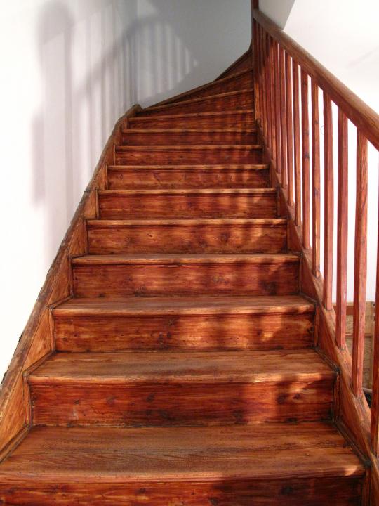 Restaurování schodiště