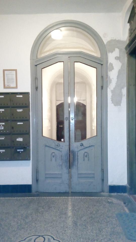 Renovace historických dveří