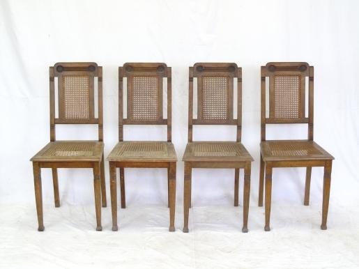 Renovace židlí